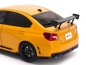 Mobile Preview: Sunstar 5551 Subaru WRX Sti 2015 gelb S207 NBR Challenge Package 1:18 Modellauto