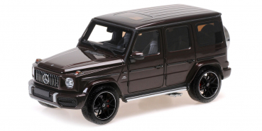 Minichamps 110037060 Mercedes AMG G63 2018 red metallic 1:18 Modellauto