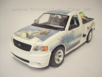 BBurago Ford F150 Water Scooter weiss 1:21 (1:18)