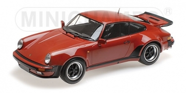 Minichamps 125066106 PORSCHE 911 TURBO 1977 PERU RED 1:12