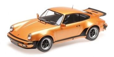Minichamps 125066110 PORSCHE 911 TURBO 1977 orange 1:12