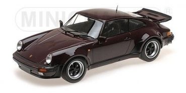 Minichamps 125066116 PORSCHE 911 TURBO 1977 PURPLE 1:12