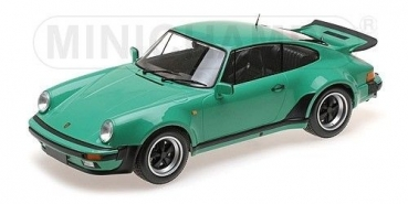 Minichamps 125066118 PORSCHE 911 TURBO 1977 green 1:12