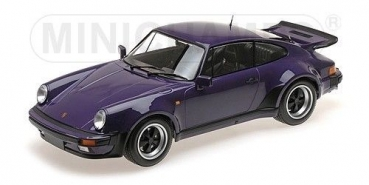 Minichamps 125066120 PORSCHE 911 TURBO 1977 lila1:12