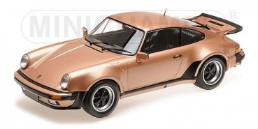 Minichamps 125066124 PORSCHE 911 TURBO 1977 pink 1:12