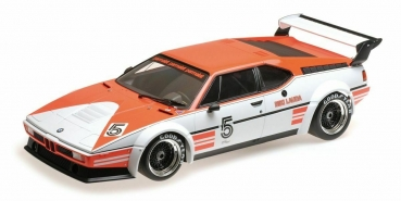 Minichamps BMW M1 PROCAR PROJECT FOUR RACING NIKI LAUDA 1:12 Modellauto