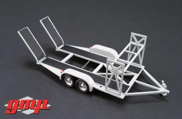 GMP Tandem Trailer with tire rack 1:43 - 14303