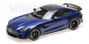 Minichamps 155036022 MERCEDES-AMG GT-R 2017 blue metallic 1:18