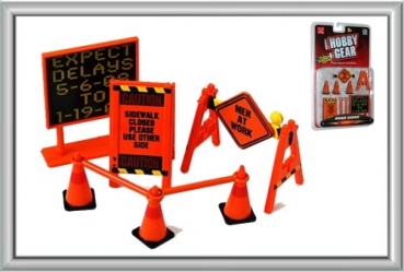 Phoenix Hobby Gear 16058 Road Sign - 1:24