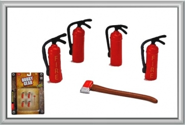 Phoenix Hobby Gear 17017 Fire Extinguishers 1:24