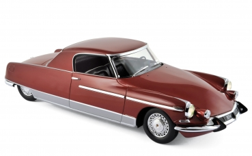 Norev Citroën DS 19 Chapron Le Dandy 1964 rouge metal 1:18 - 18001B with light