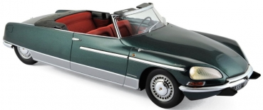 Norev Citroën DS 21 Chapron Palm Beach 1968 green metal 1:18 - 18002B with light