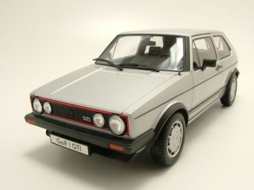 Welly VW Golf I GTI silber 1:18 18039 - limitiert 1/1008