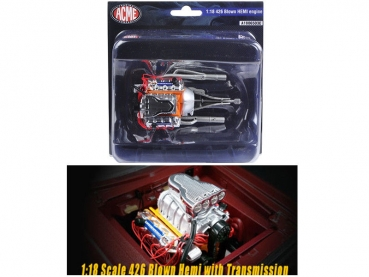 ACME1806503E GMP ACME 426 Blown HEMI ENGINE MOTOR MOTORMODELL 1:18