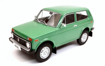 MCG Lada Niva 1976 grün 1:18 Modellauto 18111 Model Car Group