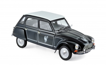 Norev Citroën Dyane 6 1977 Caban dark blue 1:18