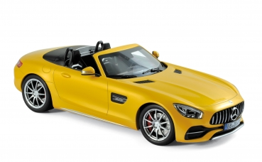 Norev 183451 Mercedes-Benz AMG GT C Roadster 2017 yellow metallic 1:18