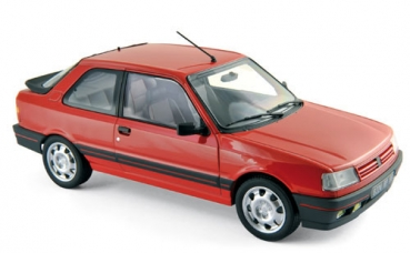 Norev Peugeot 309 GTi 1987 - Vallelunga Red 1:18 - 184880