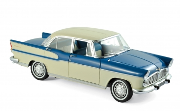 Norev 185727 Simca Vedette Chambord 1960 tropic green + china Ivory 1:18