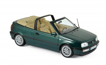 Norev 188431 VW Golf III Cabriolet 1995 - Blue Green metallic 1:18