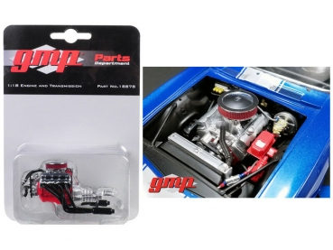 GMP 18878 Big Block Chevrolet Drag Engine MOTOR MOTORMODELL 1:18