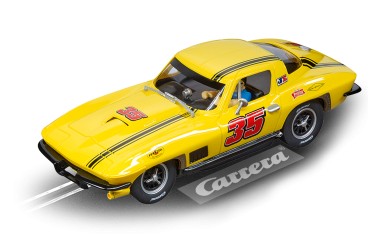 Carrera Evolution Chevrolet Corvette Sting Ray No.35 - 1:32 - 27615 Slotcar