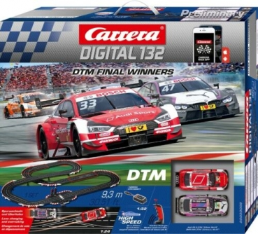 Carrera DIGITAL 132 DTM Final Winners 30009 Exclusive Rennbahn Audi RS5 + BMW M4 DTM