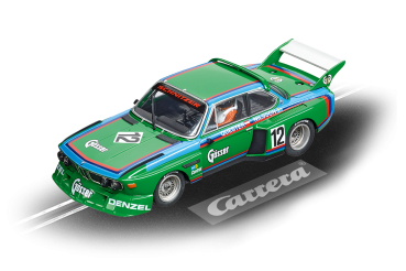 Carrera DIGITAL 132 BMW 3.5 CSL No.12 1976 - 1:32 30897 slotcar