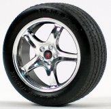 GMP Felgen Cobra R Wheel/Tire Set 37 mm