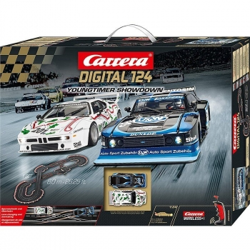 Carrera DIGITAL 124 Youngtimer Showdown 23626 Rennbahn Komplettset