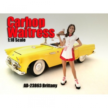 American Diorama 23863 Carhop Waitress - Brittany 1:18 limitiert 1/1000