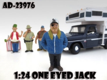 American Diorama 23976 Trailer Park S1 OneEyed Jack - 1:24 limitiert 1/1000