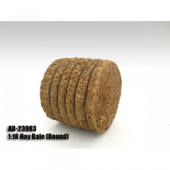 American Diorama 23983 Accessory - Hay Bale (Round) 1:18 limited 1/1000