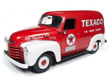 Autoworld Chevy Panel Truck 1948 Texaco 1:18 AW248 Chevrolet Modellauto