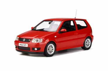 Otto Models 270 Volkswagen Polo GTi 6N 2001 red 1:18 limited 1/1500