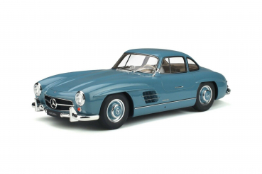 GT Spirit 308 Mercedes-Benz 300 SL Coupe 1954 light blue 1:12 limited 1/500 Modellauto