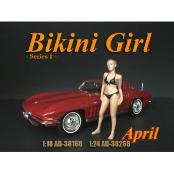 American Diorama 38268 Calendar Girls April 1:24 1/1000