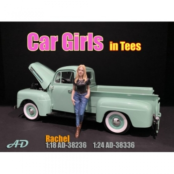 American Diorama 38236 Rachel Frau 1:18 Figur 1/1000 Car Girls in tees