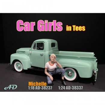 American Diorama 38237 Michelle Frau 1:18 Figur 1/1000 Car Girls in tees