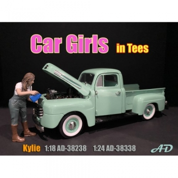American Diorama 38238 Kylie Frau 1:18 Figur 1/1000 Car Girls in tees