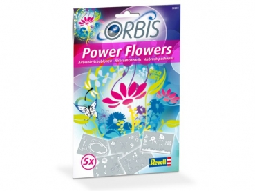 Revell Orbis Schablonen-Set Power Flowers 30200
