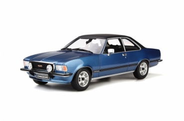 Otto Models 668 Opel Commodore B GS/E 1977 blau 1:18 limited 1/999