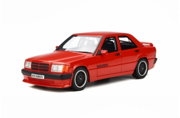 Otto Models 674 Mercedes-Benz Brabus 190E 3.6S W201 Signal Red 1:18 limited 1/2500