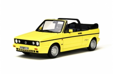 Otto Models 693 VW Golf I Cabriolet Young Line 1979 yellow 1:18 limited 1/2000