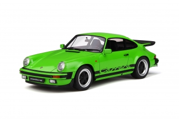 GT Spirit 740 Porsche 911 3.2 Carrera 1974 lime green 1:18 - limited 1/500
