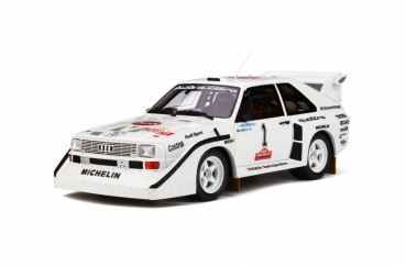 Otto Models 757 Audi Sport quattro S1 1985 Olympus Rally 1:18 limited 1/999