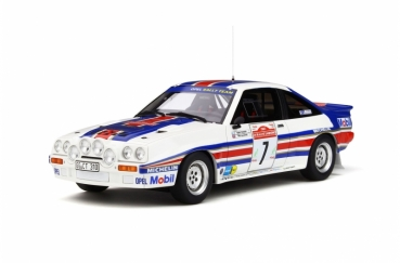 Otto Models 761 Opel Manta 400R Gr.B Rally San Remo weiss + Decals 1:18 limited 1/2000