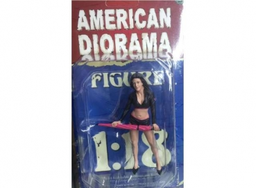 American Diorama 77435 Team Pink - Umbrella Girl I 1/1000 1:18 Figur