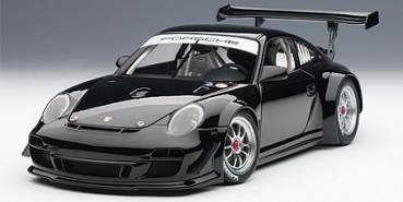 AUTOart PORSCHE 911(997) GT3 R 2010 PLAIN BODY VERSION (schwarz) 81071