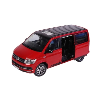 NZG VW Bus T6 Multivan Edition 30 rot 1:18 9542/10